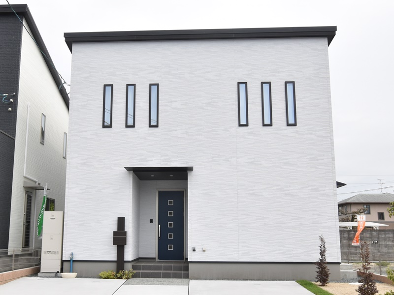熊本市北区楡木4丁目 新築一戸建て 2号地モデルハウス外観