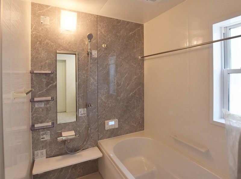 熊本市北区植木町投刀塚 新築一戸建て 4号地モデルハウス・浴室