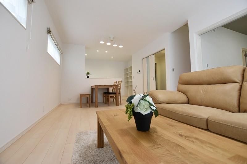 熊本市北区楡木4丁目 新築一戸建て 2号地モデルハウス・LDK