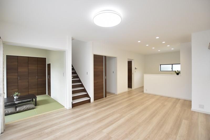 熊本市北区楡木4丁目 新築一戸建て 1号地モデルハウス・LDK