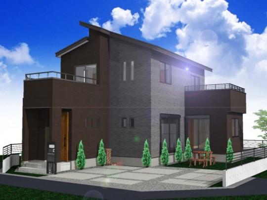 熊本市東区戸島1丁目 新築一戸建て 1号地モデルハウスイメージパース