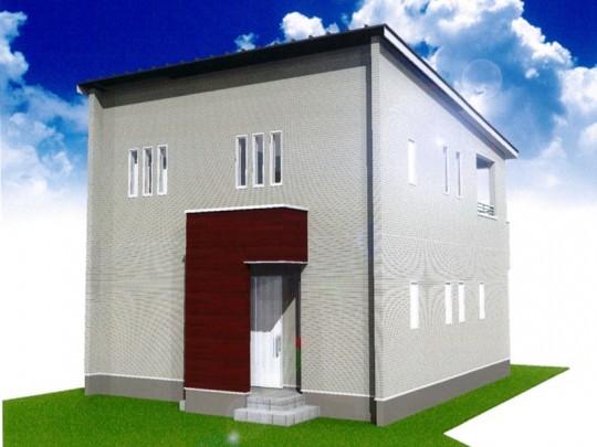 熊本市東区戸島1丁目 新築一戸建て 2号地モデルハウスイメージパース