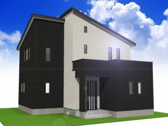 熊本市東区上南部2丁目 新築一戸建て 4号地モデルハウスイメージパース