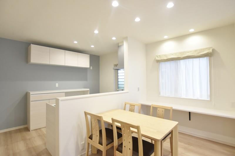 熊本市東区上南部2丁目 新築一戸建て 2号地モデルハウス・ダイニング