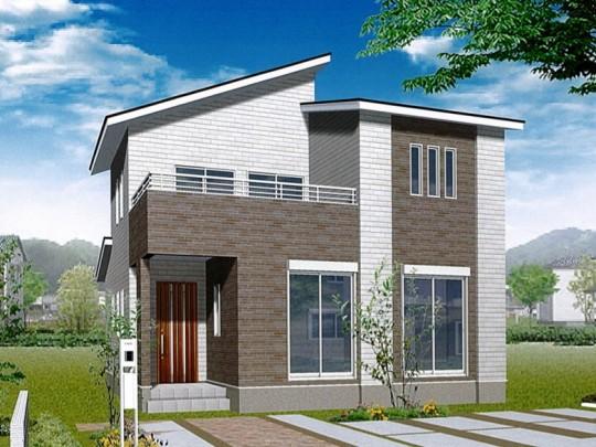 熊本市東区上南部2丁目 新築一戸建て 2号地モデルハウスイメージパース