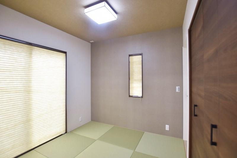 熊本市東区上南部2丁目 新築一戸建て 2号地モデルハウス・和室