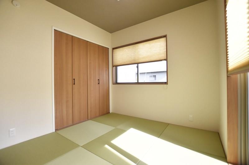熊本市東区戸島1丁目 新築一戸建て 1号地モデルハウス・和室