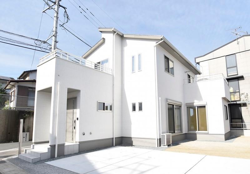 熊本市東区戸島1丁目 新築一戸建て 1号地モデルハウス外観