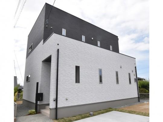 熊本市東区戸島1丁目 新築一戸建て 4号地モデルハウス外観