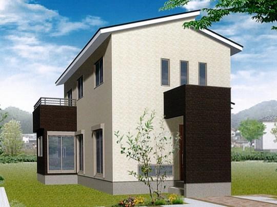 熊本市南区富合町新 新築一戸建て 1号地モデルハウスイメージパース