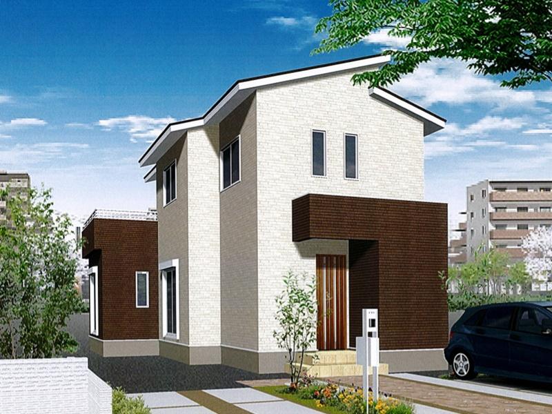 熊本市東区戸島1丁目 新築一戸建て 5号地モデルハウスイメージパース