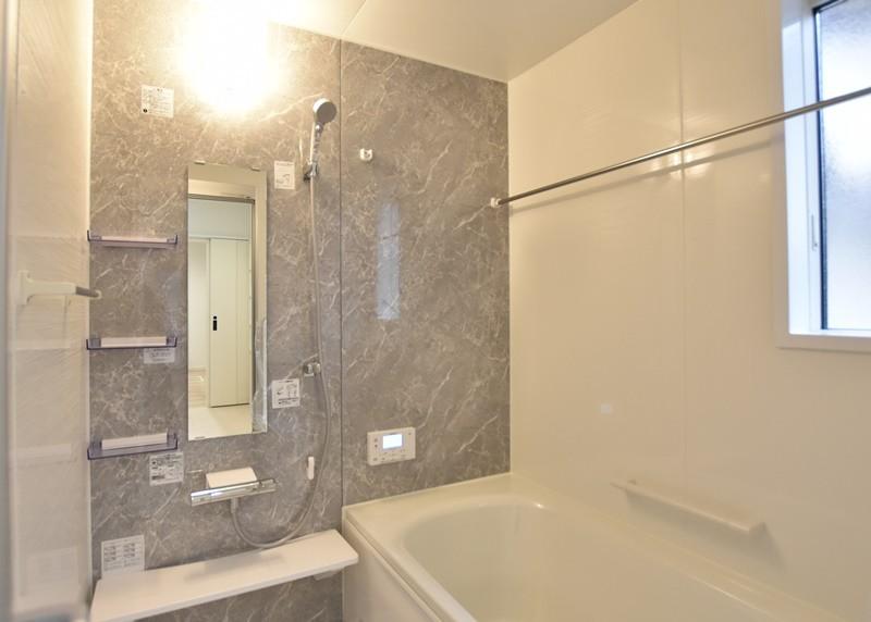 熊本市東区上南部2丁目 新築一戸建て 2号地モデルハウス・浴室
