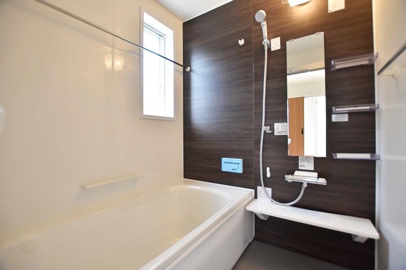 熊本市東区戸島1丁目 新築一戸建て 1号地モデルハウス・浴室