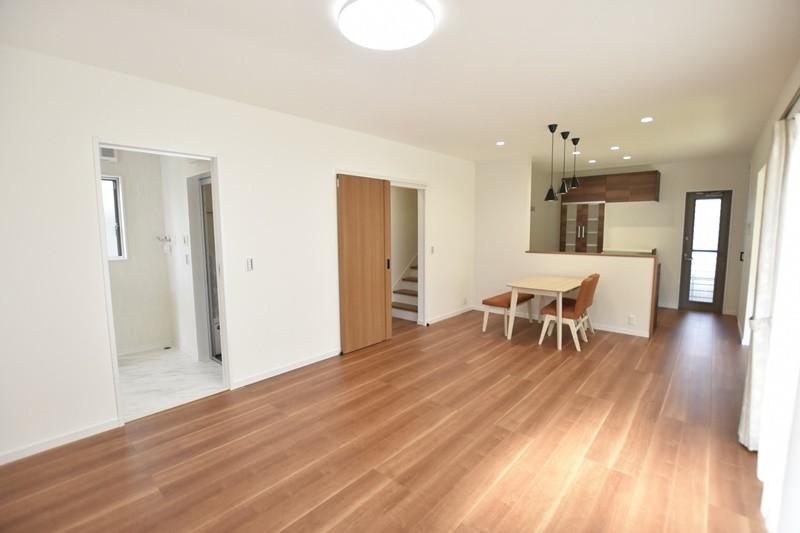 熊本市東区戸島1丁目 新築一戸建て 1号地モデルハウス・LDK