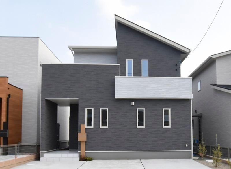 熊本市東区小山5丁目 新築一戸建て 3号地モデルハウス外観