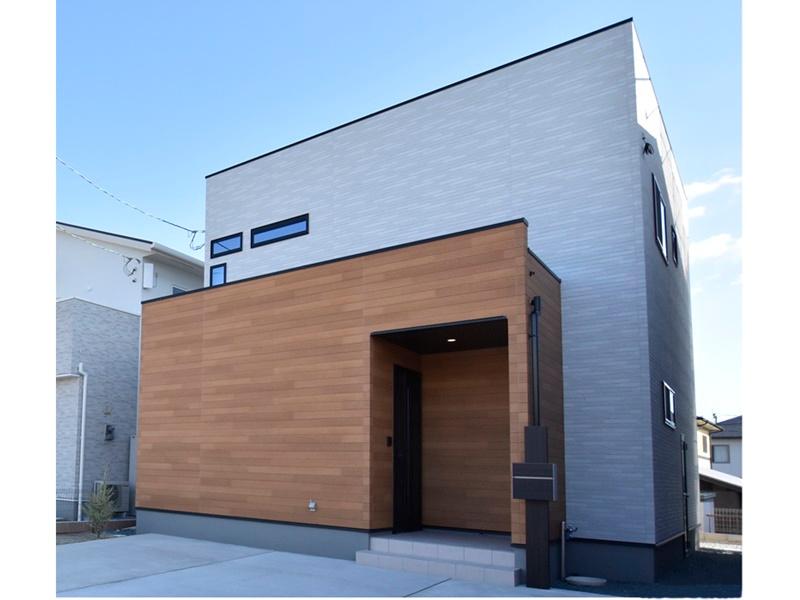 熊本市東区小山5丁目 新築一戸建て 4号地モデルハウス外観