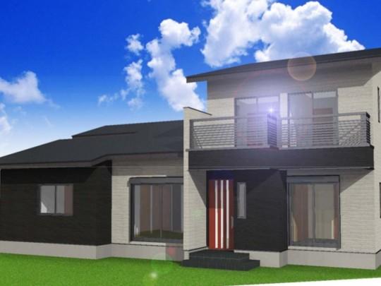 熊本市西区城山半田4丁目 新築一戸建て 3号地モデルハウスイメージパース