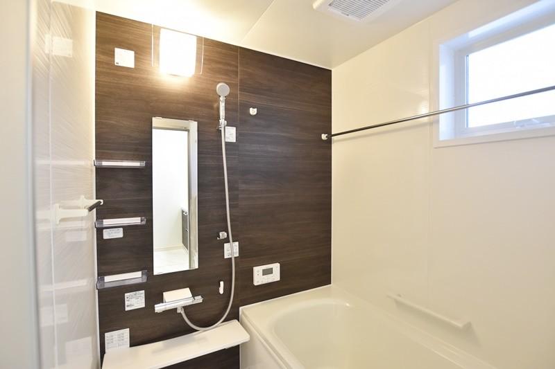 熊本市東区小山5丁目 新築一戸建て 4号地モデルハウス・浴室
