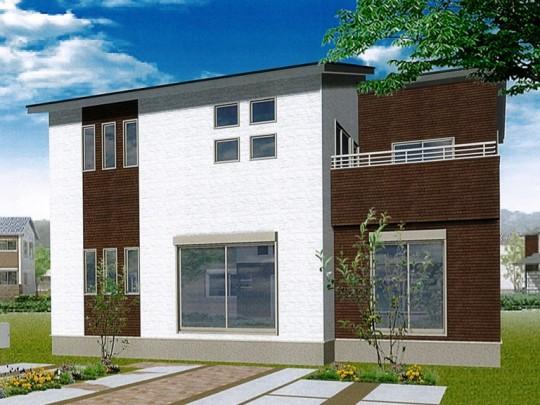 菊陽町津久礼 新築一戸建て 2号地モデルハウスイメージパース
