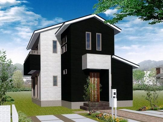 熊本市東区江津1丁目 新築一戸建て 2号地モデルハウスイメージパース