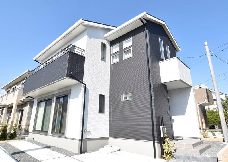 熊本市東区江津1丁目 新築一戸建て 2号地モデルハウス外観