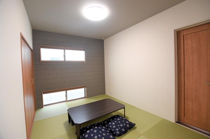 菊陽町津久礼 新築一戸建て 5号地モデルハウス・落ち着いた雰囲気の和室