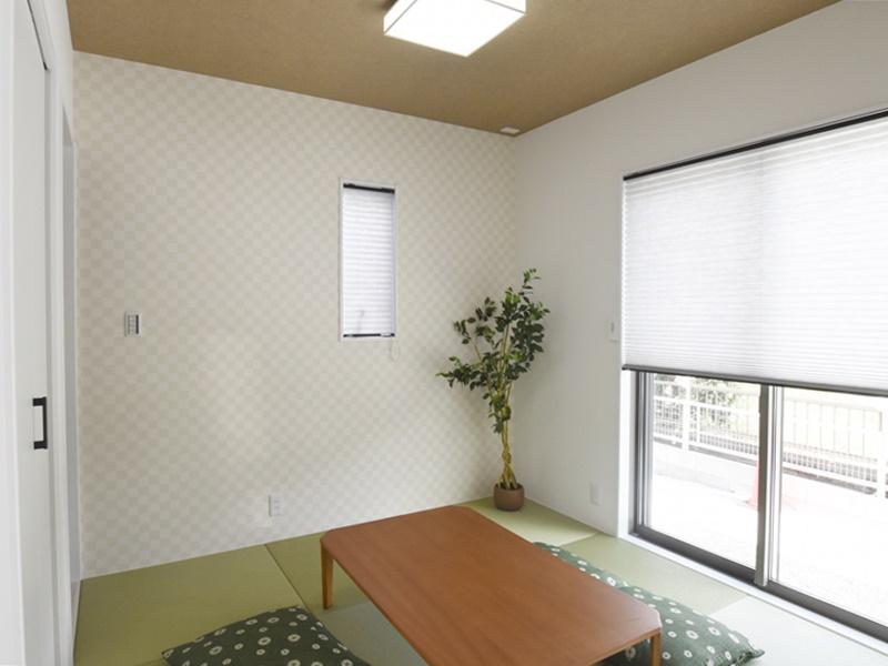 熊本市東区江津1丁目 新築一戸建て 2号地モデルハウス・和室