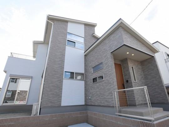 益城町宮園 新築一戸建て 1号地モデルハウス外観