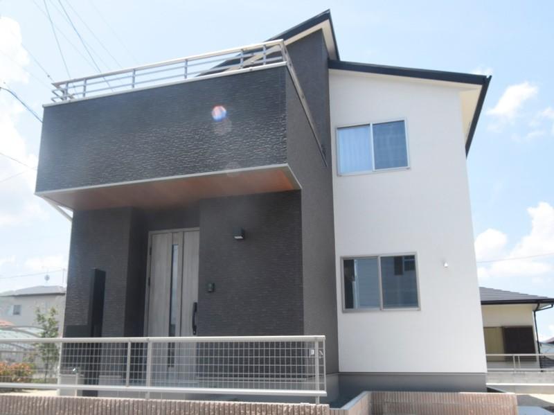 益城町宮園 新築一戸建て 2号地モデルハウス外観
