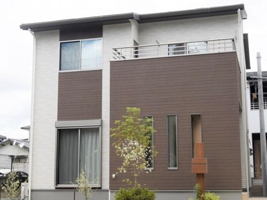 菊陽町津久礼 新築一戸建て 5号地モデルハウス外観
