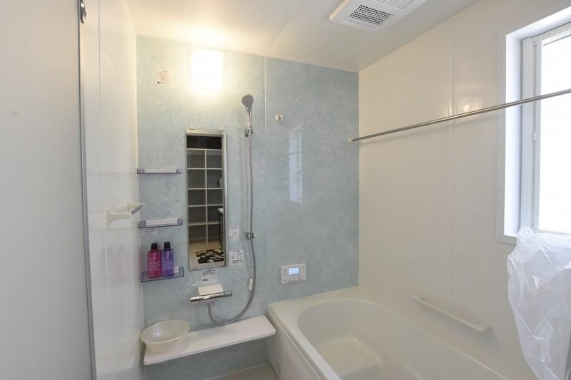 益城町宮園 新築一戸建て 1号地モデルハウス・浴室