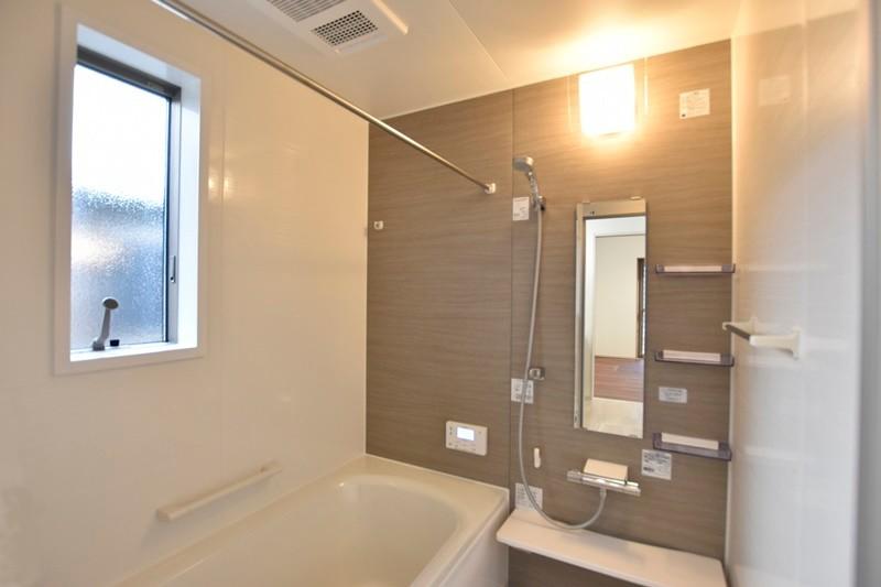 菊陽町津久礼 新築一戸建て 5号地モデルハウス・浴室