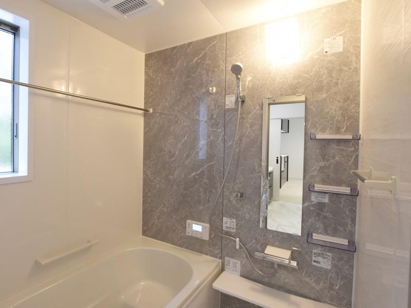 熊本市東区江津1丁目 新築一戸建て 2号地モデルハウス・浴室
