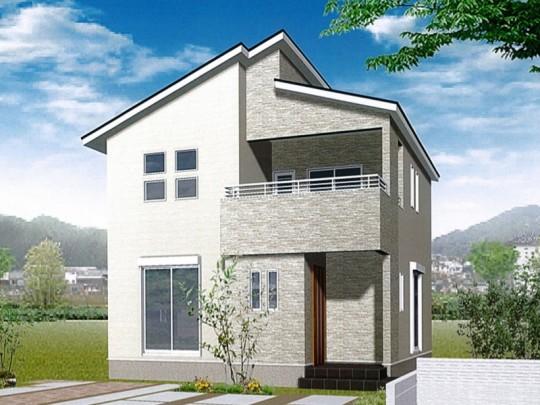 菊陽町津久礼 新築一戸建て 4号地モデルハウスイメージパース