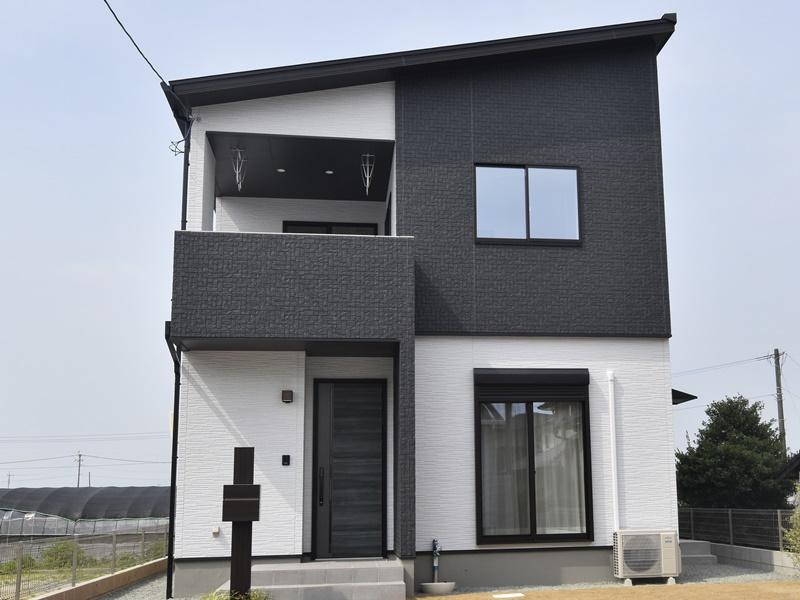 熊本市北区梶尾町 新築一戸建て 6号地モデルハウス外観