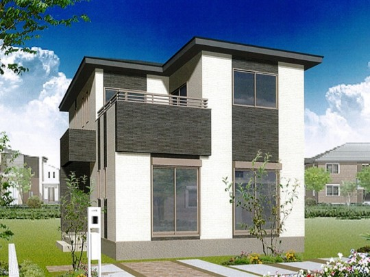 熊本市北区梶尾町 新築一戸建て 7号地モデルハウスイメージパース
