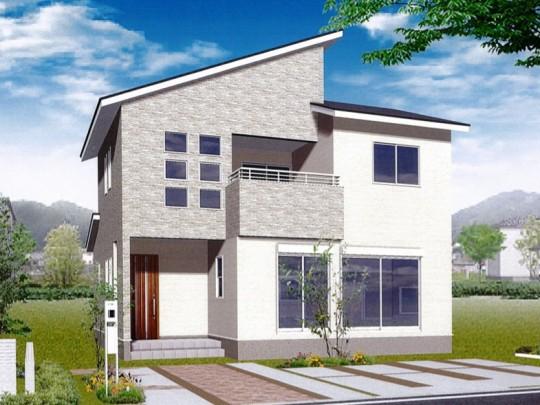 熊本市南区野口1丁目 新築一戸建て 4号地モデルハウスイメージパース