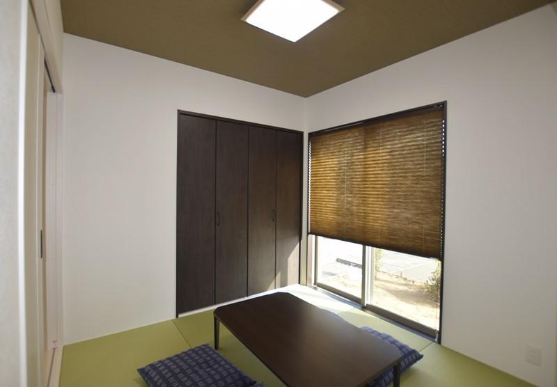 熊本市北区梶尾町 新築一戸建て 4号地モデルハウス・和室