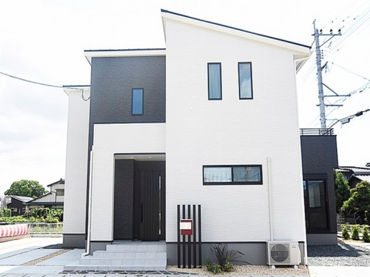 熊本市南区野口1丁目 新築一戸建て 6号地モデルハウス外観