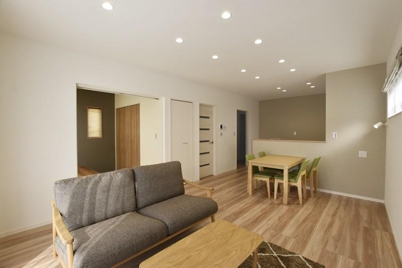 熊本市北区梶尾町 新築一戸建て 7号地モデルハウス・LDK