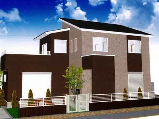 熊本市西区小島9丁目 新築一戸建て 2号地モデルハウスイメージパース
