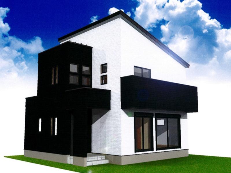 熊本市西区小島9丁目 新築一戸建て 4号地モデルハウスイメージパース
