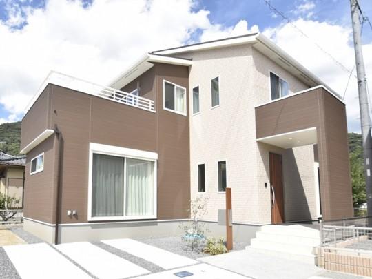 熊本市西区小島9丁目 新築一戸建て 2号地モデルハウス外観