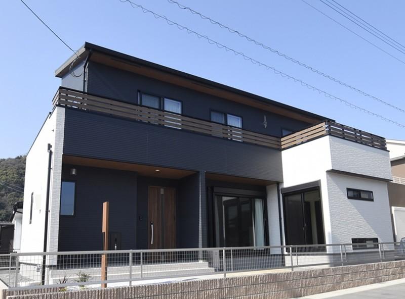 熊本市西区小島9丁目 新築一戸建て 1号地モデルハウス外観