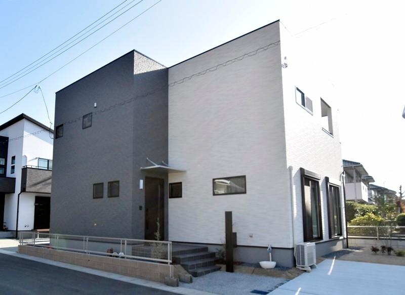熊本市西区小島9丁目 新築一戸建て 5号地モデルハウス外観