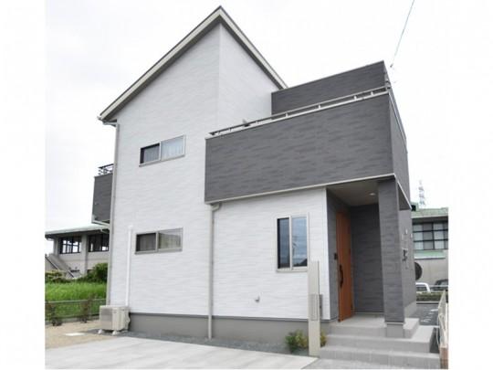 菊池郡菊陽町津久礼 新築一戸建て 3号地モデルハウス外観