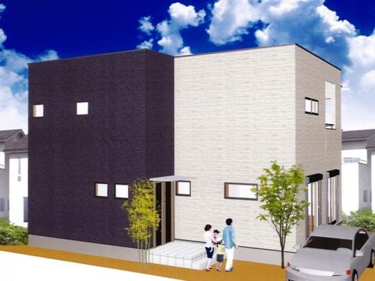 熊本市西区小島9丁目 新築一戸建て 5号地モデルハウスイメージパース
