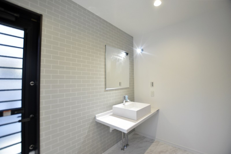 熊本市西区小島9丁目 新築一戸建て 5号地モデルハウス・洗面化粧台