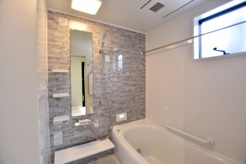 熊本市西区小島9丁目 新築一戸建て 5号地モデルハウス・浴室