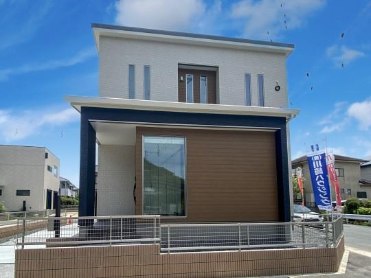 熊本市西区小島9丁目 新築一戸建て 7号地モデルハウス・外観
